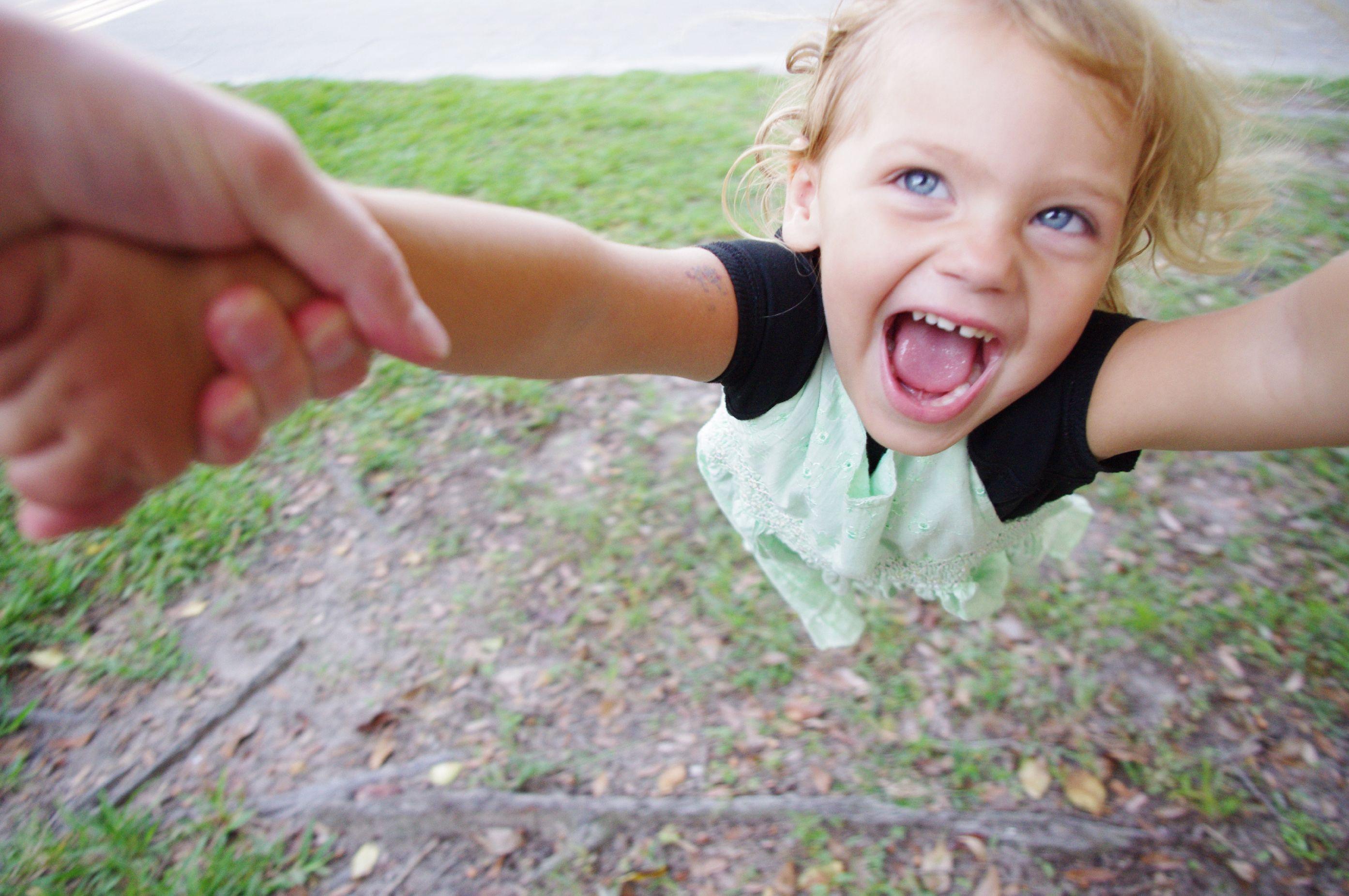spinning a child ashton morris
